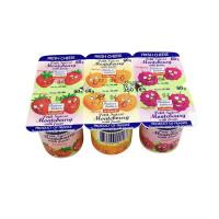 Sữa chua hoa quả Montebourg 6x60g