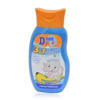 Sữa tắm gội cho bé 3in1 Dnee 200ml (Xanh)