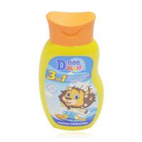 Sữa tắm gội cho bé 3in1 Dnee 200ml (Vàng)