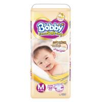 Bỉm - Tã dán Bobby Extra Soft - Dry cao cấp size M- 34 miếng (cho bé 6-10kg)