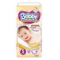 Bỉm - Tã dán Bobby Extra Soft - Dry cao cấp size S - 40 miếng (cho bé 4-7kg)