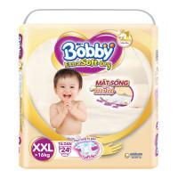 Bỉm - Tã dán Bobby Extra Soft - Dry size XXL - 24 miếng (cho bé >16kg)