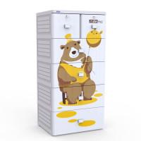 Tủ nhựa Mina Duy Tân 5 tầng 6 ngăn (màu xám)