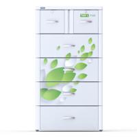 Tủ nhựa Tabi-L Duy Tân 5 tầng 6 ngắn (màu trắng)