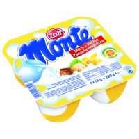 Váng sữa Monte Zott- Vanilla 4x55g