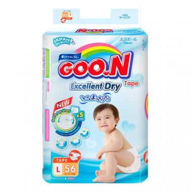 Bỉm - Tã dán Goon Slim JB size L - 56 miếng (cho bé 9-14kg)
