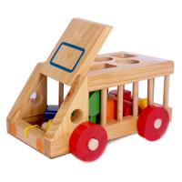 Ô tô thả hình gỗ GoldCat