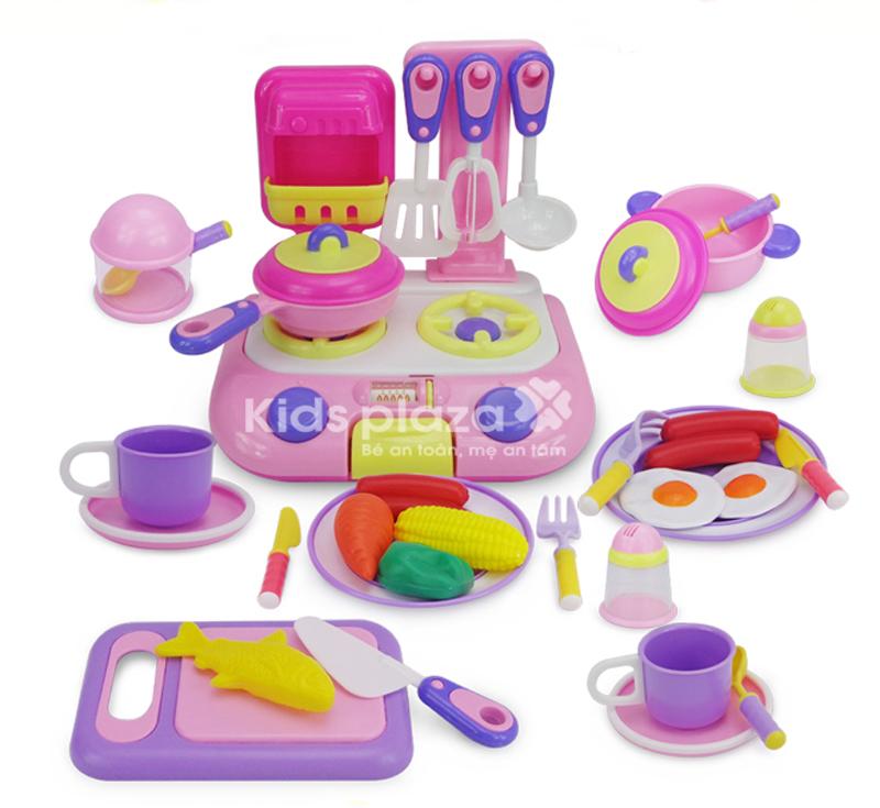 Bộ đồ chơi nhà bếp ParkField 38 pcs an toàn cho bé