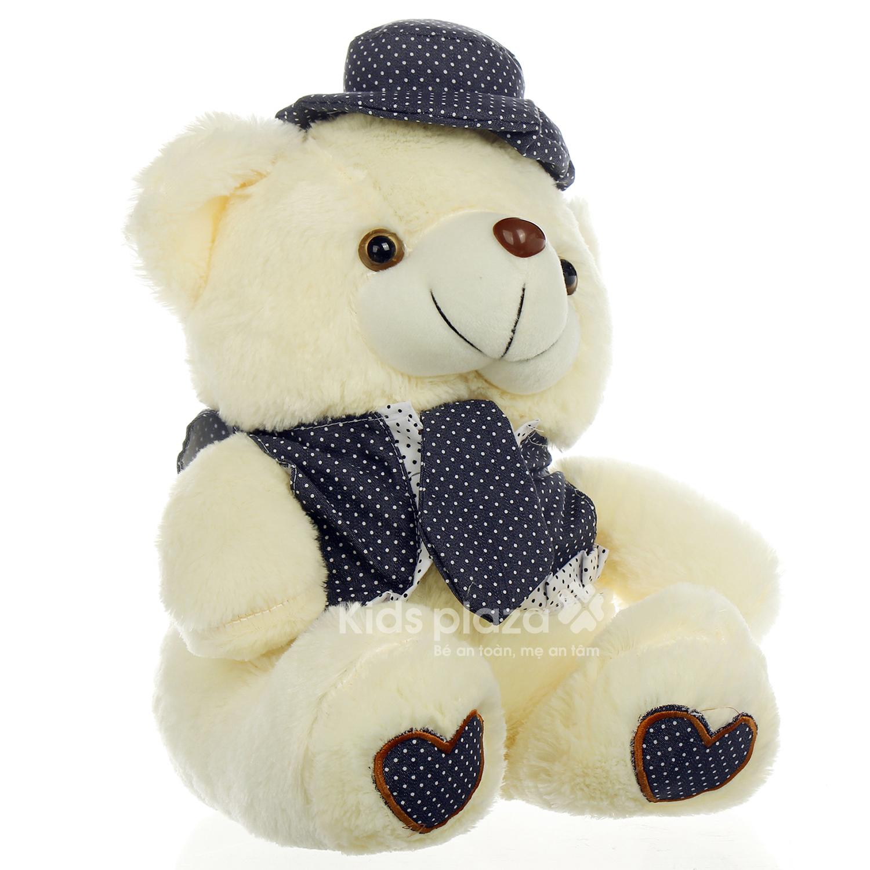 Đồ chơi thú bông gấu mặc gile - cavat ngộ nghĩnh
