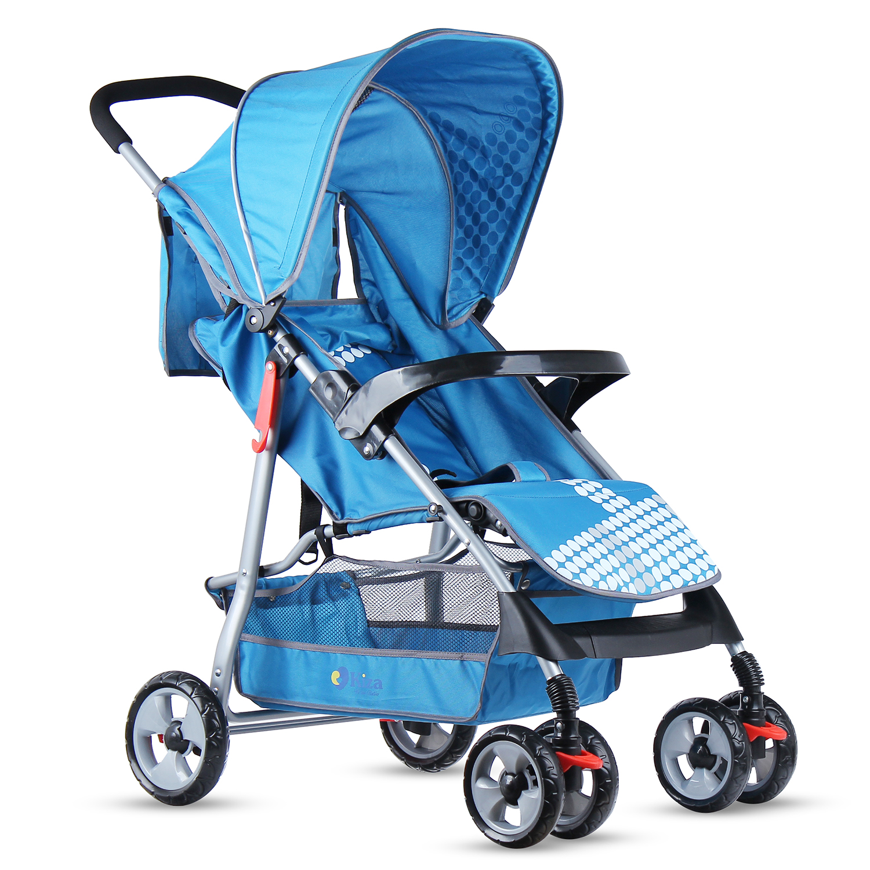 Xe đẩy trẻ em Kiza KZ6789 xanh