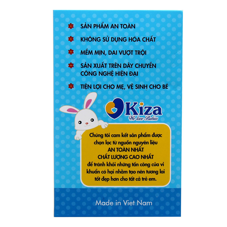 Khăn vải khô đa năng Kiza 180pcs