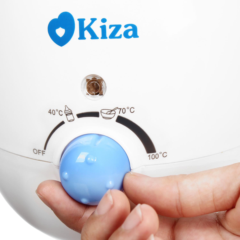 Máy hâm sữa Kiza 4 in 1 có mức điều chỉnh nhiệt độ tiện lợi