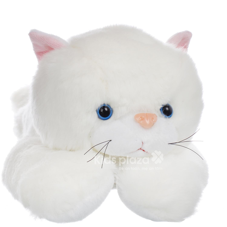Đồ chơi thú bông mèo xù ngộ nghĩnh KC chất liệu an toàn