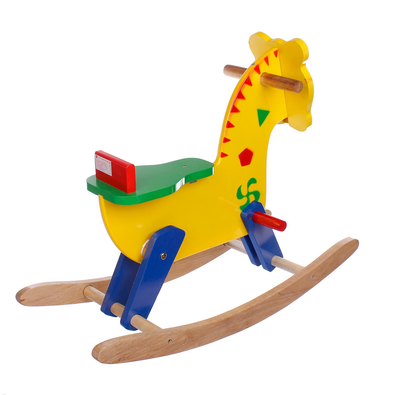 Ngựa gỗ bập bệnh Etic chắc chắn, an toàn dành cho bé