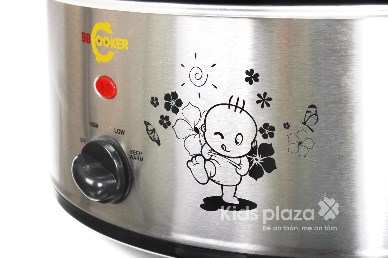 Nồi nấu chậm đa năng cho bé BBCooker Hàn Quốc 3.5l dễ dàng sử dụng