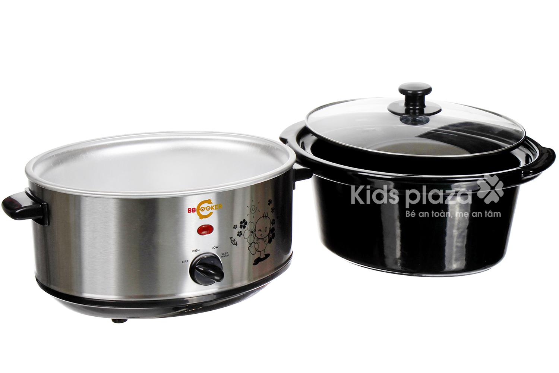 Nồi nấu chậm đa năng cho bé BBCooker Hàn Quốc 3.5l an toàn, tiện dụng