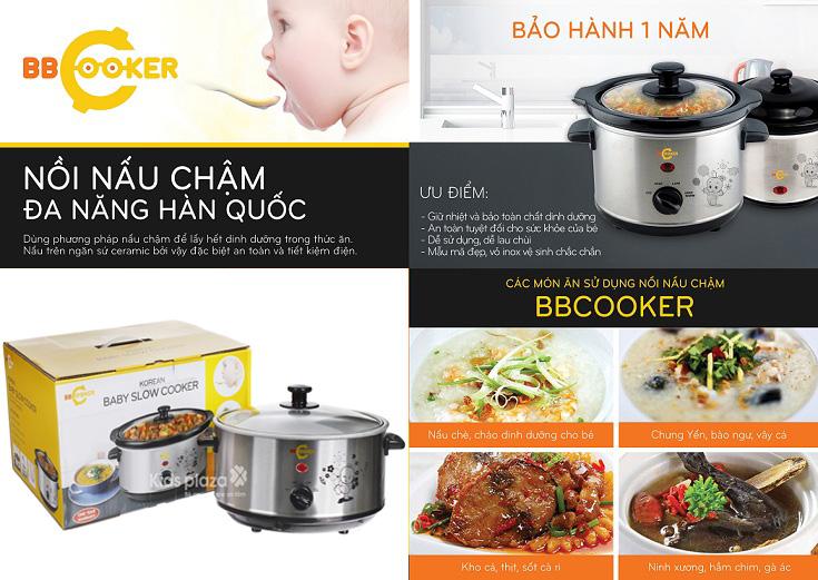 Nồi nấu cháo BBCooker Hàn Quốc 3.5l Hàn Quốc