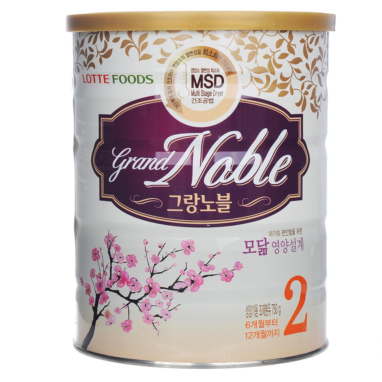 sữa bột Grand Noble 750g cho bé 6-12 tháng tuổi