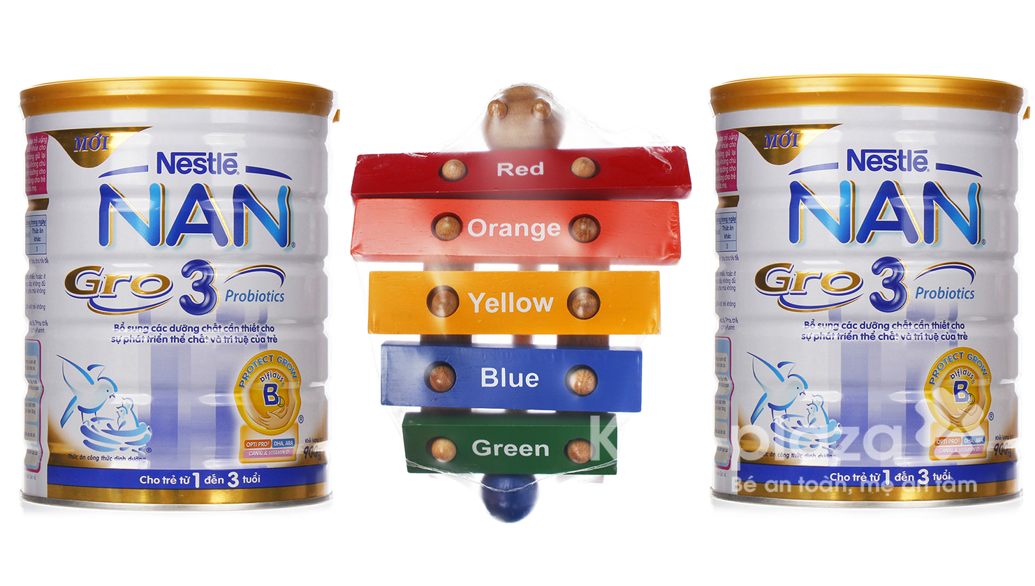 Sữa bột cho bé Nestle Nan Gro số 3 900g (Set 2 hộp)