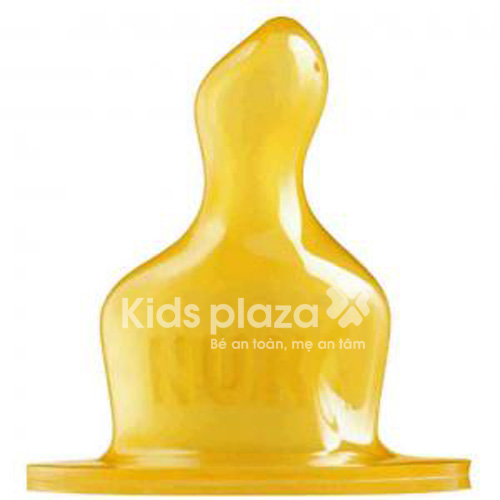 Ty thay cao su đơn 2-Sữa Nuk 713117 an toàn cho bé