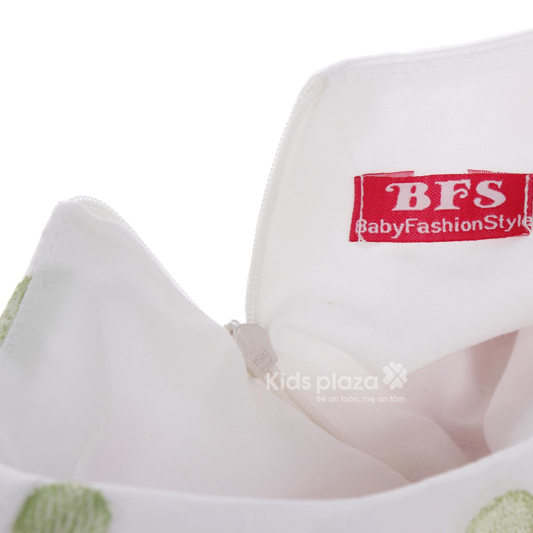 Váy bé gái chấm bi có nơ BFS nổi bật cùng bé
