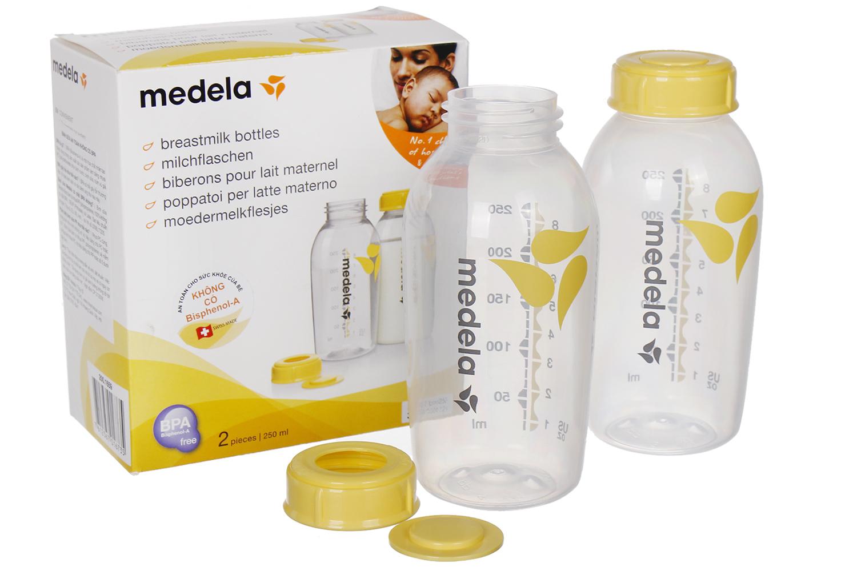 Bình trữ sữa Medela 250ml chất liệu cao cấp an toàn