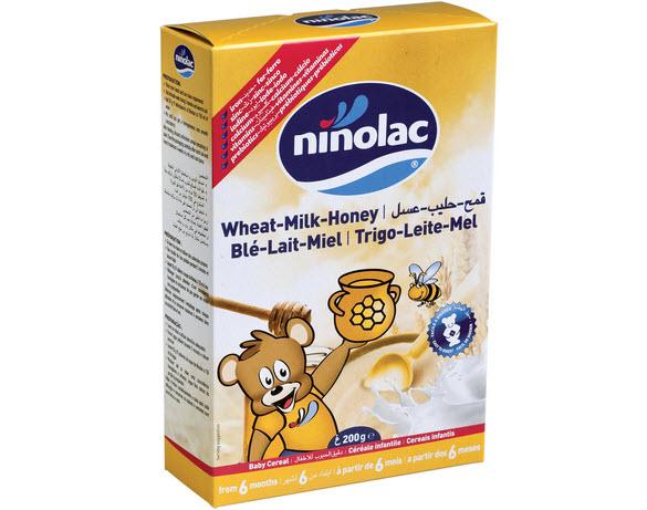 Bột ăn dặm Ninolac mật ong 200g an toàn cho bé